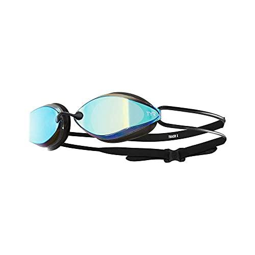 TYR TRACER-X Racing Nano-Brille, verspiegelt, Gold/Schwarz/Schwarz, einzigartig