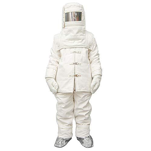 Heatile Aluminiumfolie Arbeitskleidung Schwer entflammbar Hohe Temperaturbeständigkeit Brandschutz Für den Ganzkörperschutz an Orten mit starker Wärmestrahlung