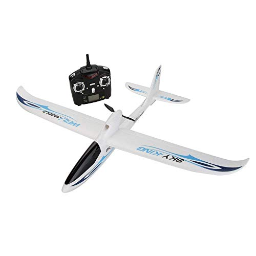 WLtoys F959 Sky King 2.4G 3CH RC Aircraft Fixed-wing Radio Control Aircraft,Outdoor Racing Controllers Helicopter Sky Rover,Rc Airplane,RC Helicopter,Drones Parts,Remote Control,Rc Plane (white)
