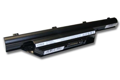 Batterie LI-ION 4400mAh 10.8V noir compatible pour FUJITSU-SIEMENS Lifebook remplace FPCBP177, FPCBP179, FPCBP179AP