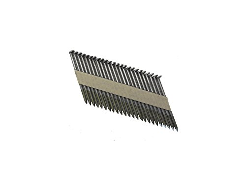 Grip Rite Prime Guard GRP6RHGH1 30 Degree Paper Tape Offset Round Head Exterior Galvanized Collated Framing Nails, 2