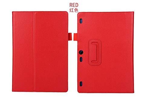 para Lenovo Tab2 a10-70 A10-70F / L A10 30 x30F Funda Inteligente Flip Funda de Cuero para Lenovo Tab 2 A10-70L a10 Tablet 10.1 Funda de Tableta-Rojo