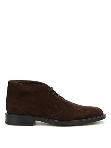 Tod's Luxury Fashion Herren XXM45A00D80RE0S800 Braun Wildleder Desert Boots | Jahreszeit Permanent