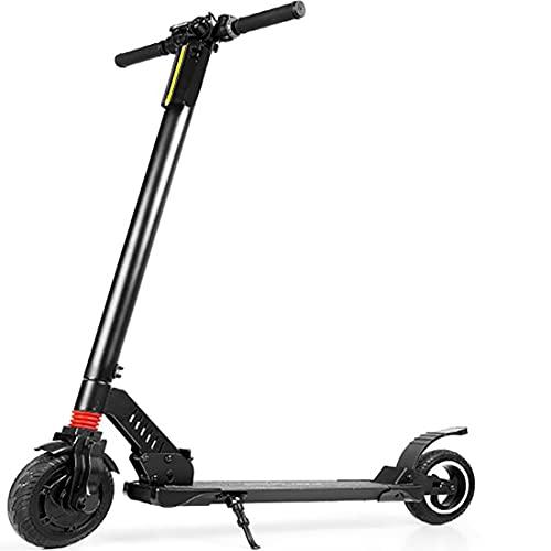 """Retoo Faltbarer Elektro Scooter mit 250W Motor und Drehzahl zur 24km/h, Elektroscooter mit 8"""" Rädern und 5Ah Wiederaufladbare Lithium-Ion, Elektroroller bis 120kg, E-Scooter, Kinderroller (Schwarz)"""