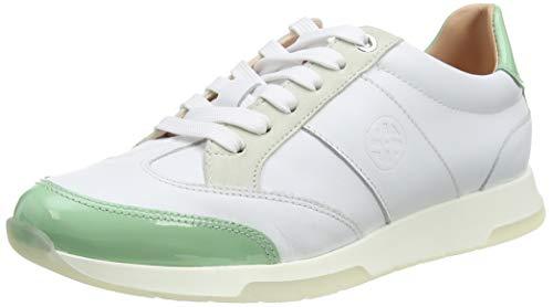 Unisa Falconi_nf_pa, Zapatillas Mujer, Multicolor (White/Mint White/Mint), 36 EU