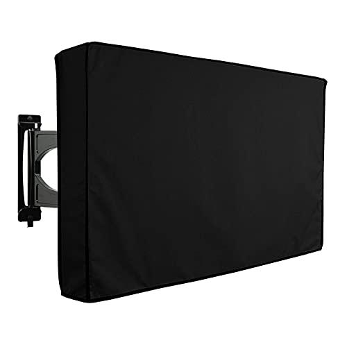 ZYuan Cubierta De TV Al Aire Libre Protector De Pantalla De TV De Pantalla Plana Resistente A La Intemperie De Tela De Poliéster 600D para 22 '' A 52 '' LCD LED (Size : 22-24')
