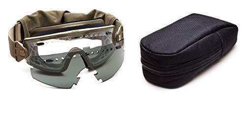 Smith Optics Lopro Regulator Elite - Gafas tácticas con Lentes Intercambiables, Unisex, Color marrón - Canela, tamaño n/a