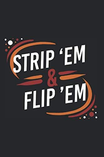 Strip Em & Flip Em: Tagesplaner Für Rettungsdienst, Notfallsanitäter Und Rettungssanitäter. Notizbuch Zum Selbst Eintragen Und Notieren. Geschenkidee ... Zum Aufschreiben Eines Tagesbericht