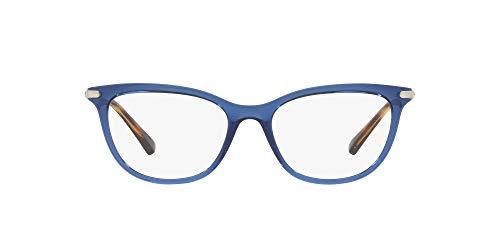 Ralph Lauren RALPH BY 0RA7098 Monturas de gafas, Transparente Blue, 54 para Mujer