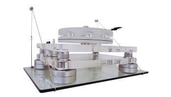 Shelving Plattenspieler-Hängeregal 500 mm x 300 mm