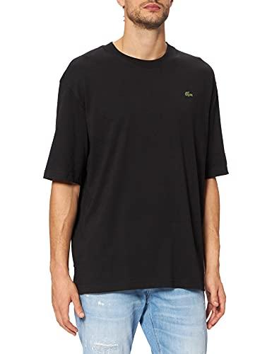 Lacoste TH9162 Camiseta, Noir, L para Hombre