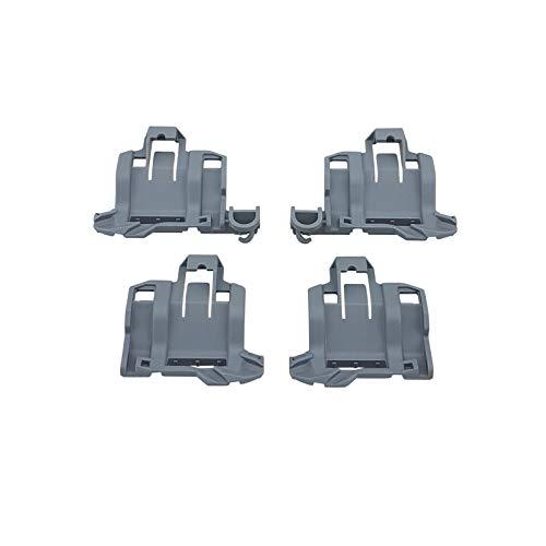 4 x Lager für Klappstachelreihe 645101 645102 Unterkorb Bosch Siemens 00611473 611473