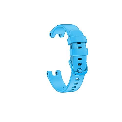 KINOEHOO Correas para relojes Compatible con Garmin Lily Pulseras de repuesto.Correas para relojesde silicona.(cielo azul)
