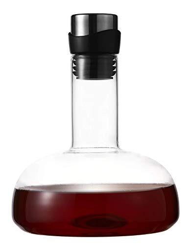 Eravino Wine Decanter Breather Carafe 100% Hand Blown Crystal Glass Decanter Excellent Gift
