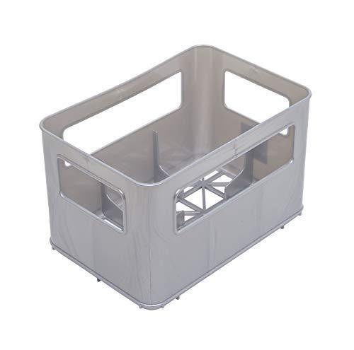 Rotho Babydesign 30036 0070 Flaschenbox, silber