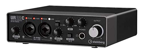 Steinberg UR22C - USB 3 Audio Interface incl MIDI I/O & iPad connectivity