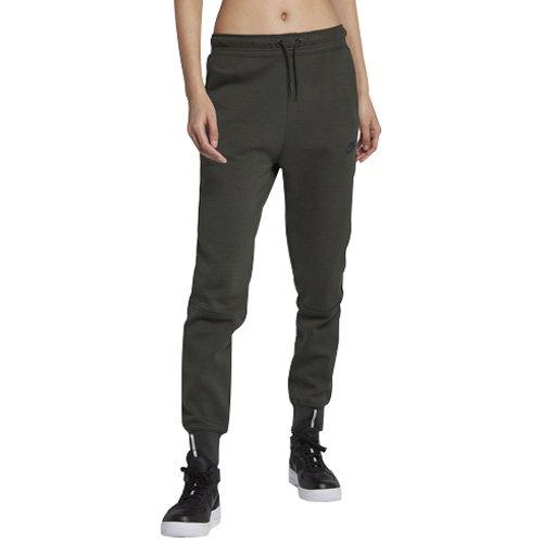 Nike W NSW TCH FLC Og, Pantaloni Donna, Sequoia/Nero, M