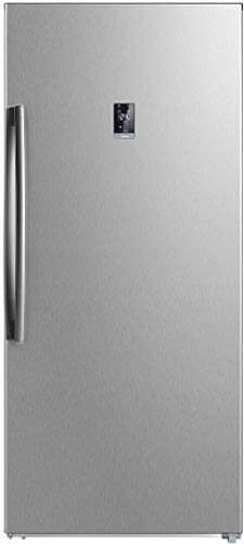 """WHS507FWESS1 28"""" Convertible Upright Freezer with 13.8 cu. ft. Capacity, Energy Star, Automatic Defrost, Interior Lighting, in Stainless Steel"""
