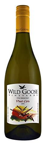 Wild Goose Pinot Gris (Grauburgunder) Weißwein, Kanadischer Pinot Grigio Wein - Okanagan Valley, Kanada BC VQA (1x0,75 l)