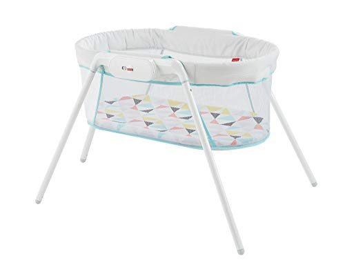 Fisher-Price Cuna De Viaje para bebé recién nacido (Mattel GBR67)