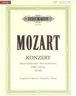 CORATIE 20 D-MOLL KV 466 - KLAV ORCH - gearrangeerd voor twee piano's - piano 4-handig [noten / Sheetmusic] Component: MOZ...