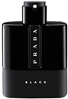 Prada Luna Rossa Black For Men Eau De Parfum Spray 1.7 oz