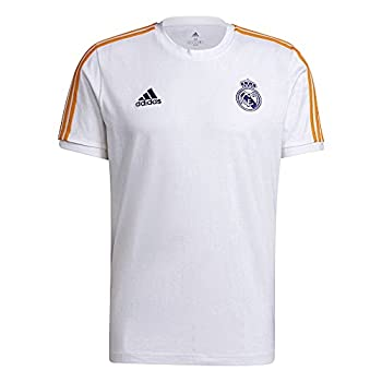 adidas Real 3S Tee Tricot, Multicolore (Blanco/Azuvic/Narsue), XXXL Homme