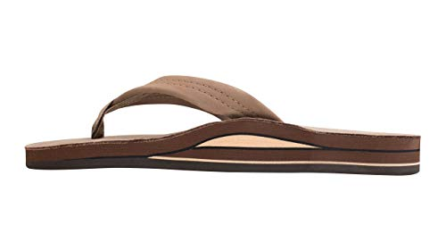 Rainbow Mens Premier Double Layer Leather Sandals,Medium (8.5-9.5)