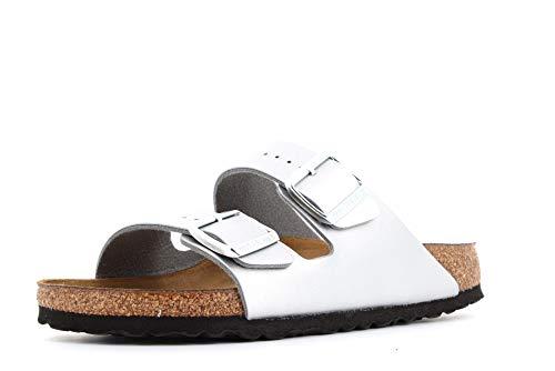 BIRKENSTOCK chaussures femme pantoufles 1012283 ARIZONA BS taille 40 Argent