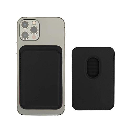 Desconocido Tarjetero magsafe iPhone Funda 12 Compatible (12 Mini Pro MAX) magnético protección Tarjetas RFID Accesorios Cartera Wallet complementos iPhone