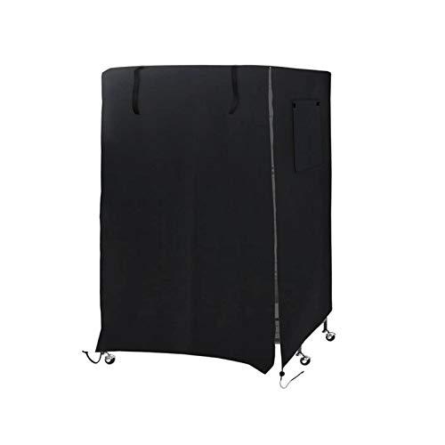 longchun east Large Bird Cage Cover, Pet Sleep Parrot Cage Cover Birdcage Cover Windproof Dustproof Anti-UV (38.18 * 26.62 * 51.18in) (Black)