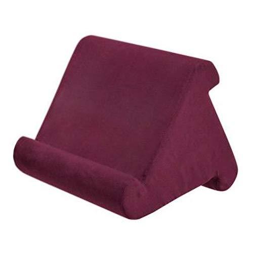 ZYBC Tablet Ständer Kissen, Multi Angle Soft Bed Pillow Holder Tragbarer Dreieck Tablet Ständer Für Tablets, Smartphones, Bücher (RR)