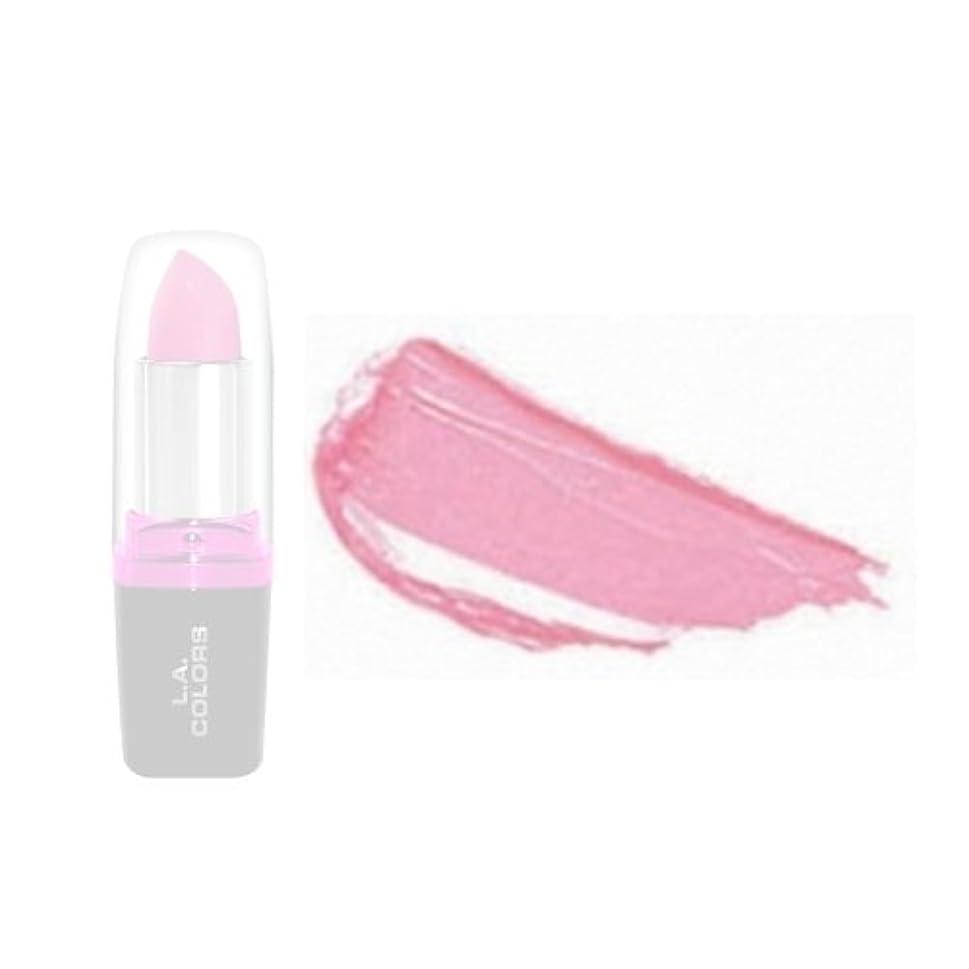 熱裁判官泥LA Colors Hydrating Lipstick - Cool Pink (並行輸入品)
