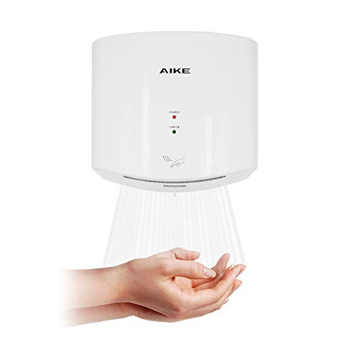 AIKE AK2630S Compact Automatic High Speed Hand Dryer Commercial and...
