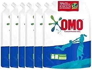 OMO Liquid Detergent Pouch, 6 x 1.8 liters