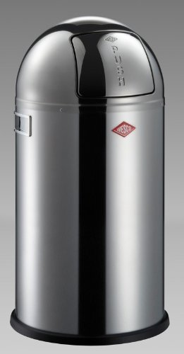 Wesco Pushboy Zilver.How To Pushboy Stainless Steel With Lid In Black Plastic