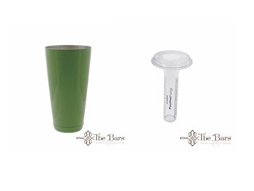 Kit Barman Shaker + Pourfect easy misuratore cocktail Bartender Verde Chiaro
