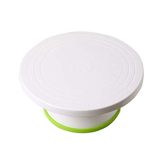 SMLZV Kuchendekorationszubehör mit Drehteller for Kuchen, ABS-Kunststoff-Hauptback-Drehteller Dessert-Laden Backenwerkzeuge