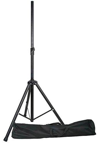 E-Lektron SPST-1 Boxenständer inkl. Tragetasche Lautsprecherständer für Lautsprecher Boxen mit 35mm Ständeraufnahme Hochständer Stativ