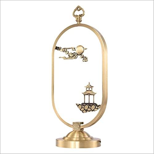 Lámpara de mesa para la lámpara de mesa de dormitorio Todas la lámpara de escritorio de cobre Estilo chino Sala de estar Sofá decoración de la esquina habitación Habitación de dormitorio Lámpara de me