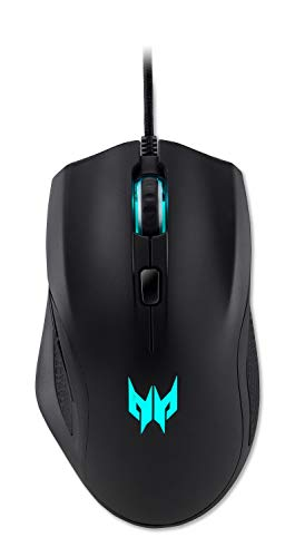 Acer Predator Cestus 320 RGB Gaming Mouse – On-The-Fly DPI Shift Setting, On-Board Memory and Programmable Buttons