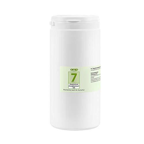 Schüssler Salz Nr. 7 Magnesium phosphoricum D6 | 4000 Tabletten | Das Salz der Muskeln und Nerven | glutenfrei