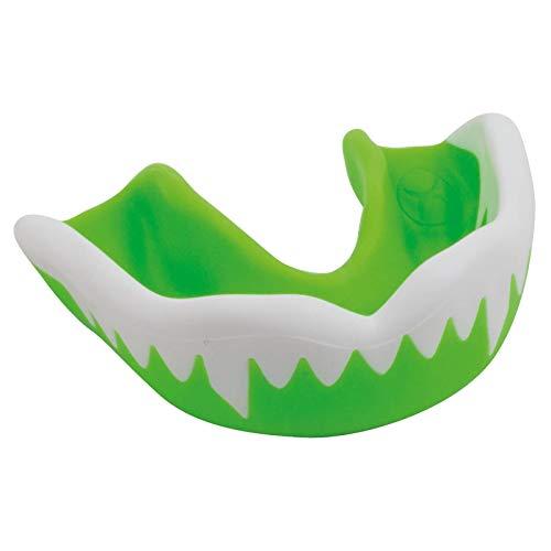 Gilbert Rugby Zahnschutz - Synergie Viper - Grün/Weiß Kinder