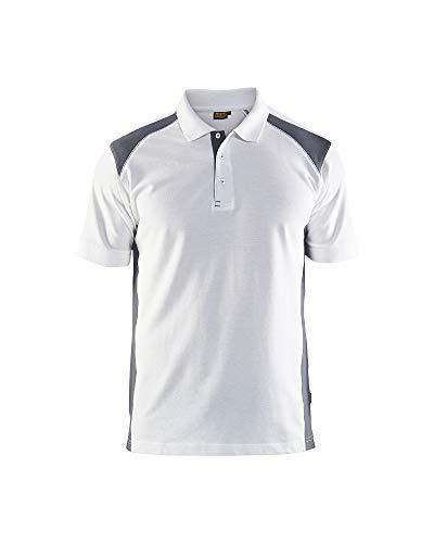 BLÅKLÄDER Arbeitskleidung für Maler Poloshirt mit verstärkten Nacken- und Schulternähten, 33241050 Größe L