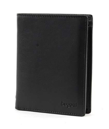 bugatti City Line Coin Wallet Combi Style 13CC Black