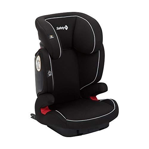 Safety 1st Road Fix Kindersitz Gruppe 2/3, 15-36 kg - praktischer Autositz mit IsoFix ab 3 bis 12 Jahre, Full Black (schwarz)