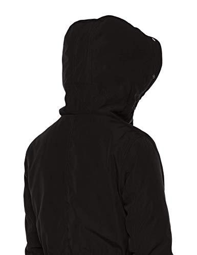 Royal Matrix Women's Warm Winter Parka Coat Hooded Sherpa-Lined Winter Jacket with Zip Pockets