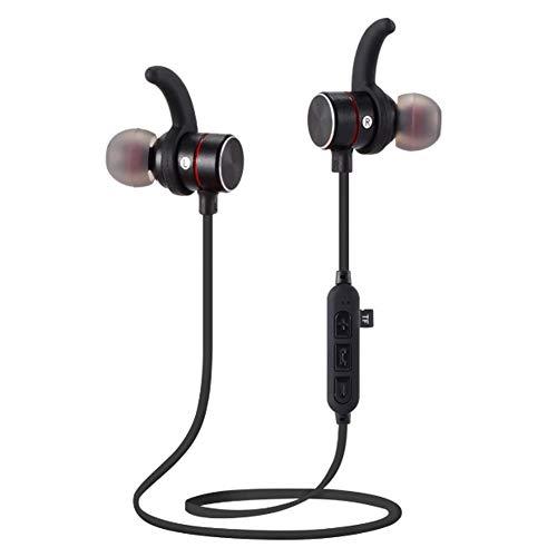 YPJKHM Bluetooth-Headset aus magnetischem Metall, Karten-Headset, schweißfester Kopfhörer zum Laufen beim Joggen