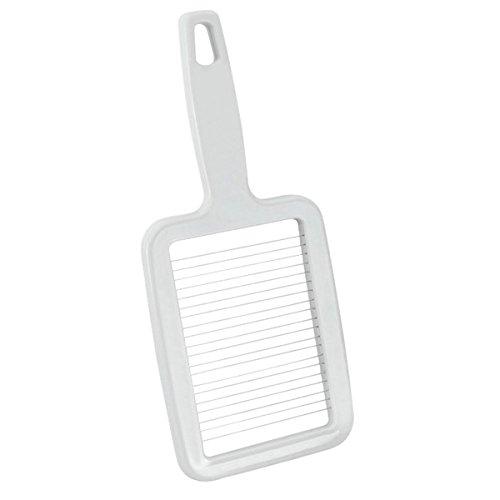 Metaltex 204702084 Kartoffelschneider aus Edelstahl, silber, 8 x 8 x 1 cm