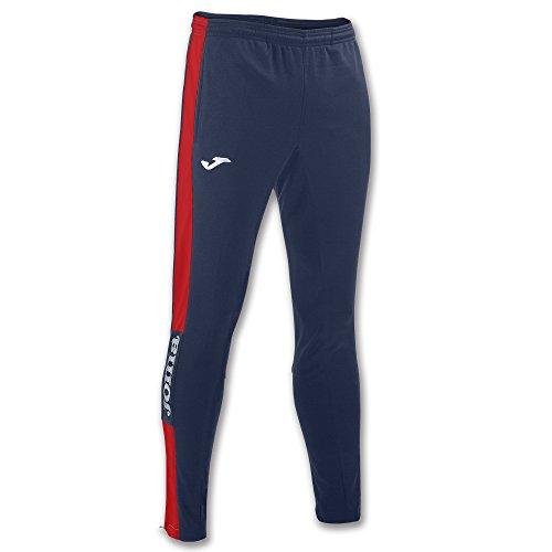 Joma 100761.306 Pantalons Fille, Bleu Marine/Rouge, XXS